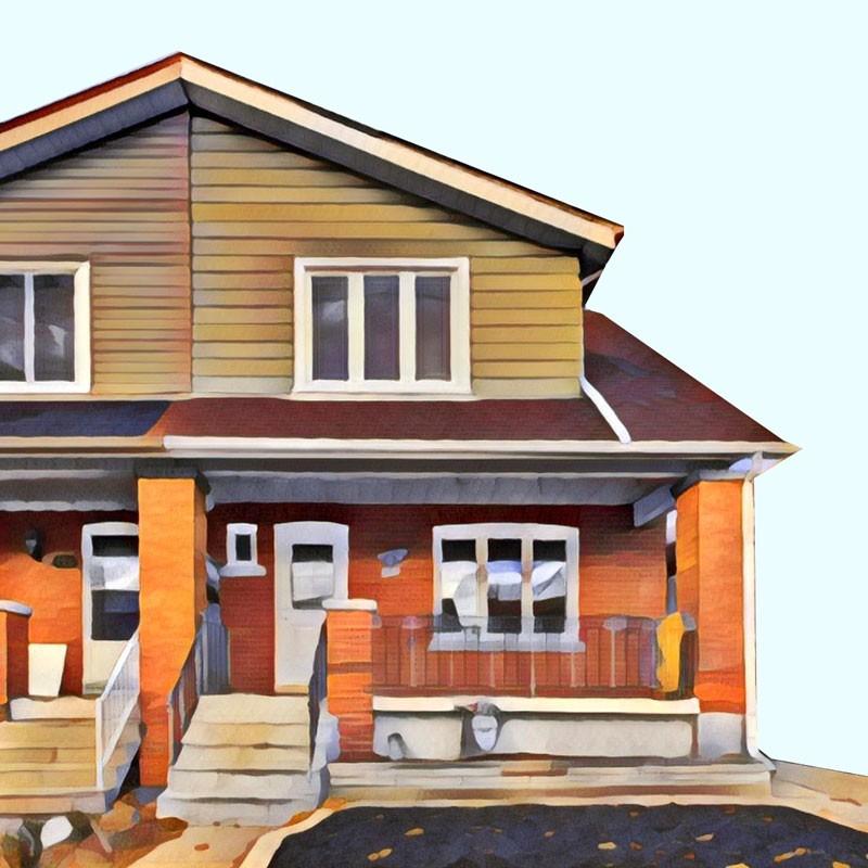 Toronto income property semi detached house